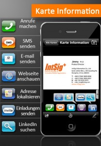 camcard lite visitenkarten einlesen kostenlose apps. Black Bedroom Furniture Sets. Home Design Ideas