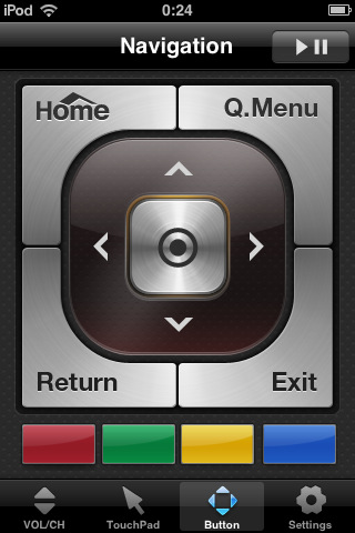 tv remote fernbedienung f r den fernseher das iphone kostenlose apps f r iphone ipad. Black Bedroom Furniture Sets. Home Design Ideas