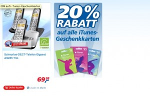 iTunes-Rabtt bei Real