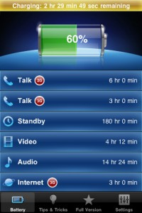 Battery Manager Free für iPhone