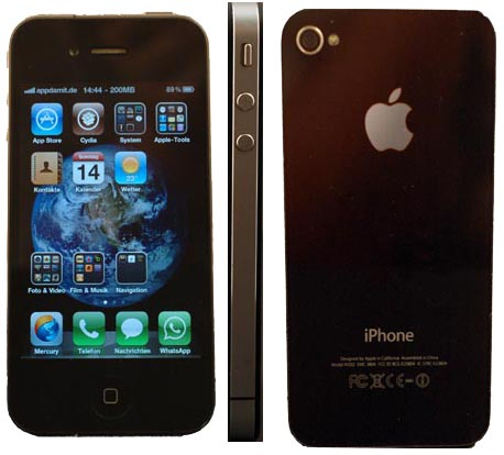 iPhone 4 – demontiert