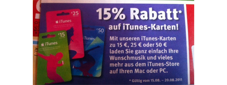 diese woche rabatt auf itunes karten kostenlose apps f r iphone ipad. Black Bedroom Furniture Sets. Home Design Ideas