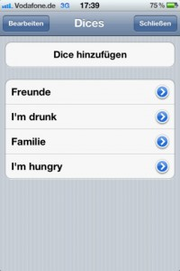 dice a call! für iPhone