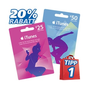 iTunes 20 % bei Real