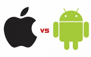 apple vs. android appdamit