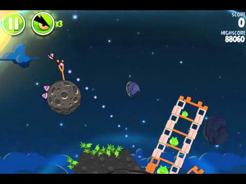 Angry Birds Space – Level 1-1 – 1-30 (Pig Bang) – 3 Stars Walkthrough – alle Level